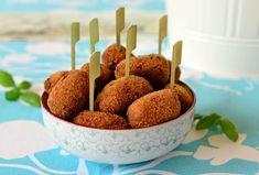 crochette di melanzane - Zöld fűszeres padlizsánkrokett
