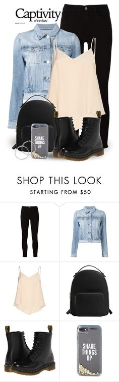 """""""Mar 2nd (tfp) 3145"""" by boxthoughts ❤ liked on Polyvore featuring Frame, 3x1, Alice + Olivia, MANGO, Dr. Martens, Kate Spade and tfp"""