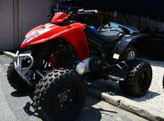 New 2016 Kymco Mongoose 270 ATVs For Sale in Florida. The Mongoose 270 This mid-size sport quad features a liquid-cooled 270cc carbureted engine with enough power to easily roost around a berm or loft the front end over a log. Regulated by an easy to use automatic CVT (F-N-R), the chain-drive Mongoose 270 is suspended by a dual A-arm front and linked rear suspension with preload adjustable progressive shocks and further features dual disc front and single disc rear brakes, front and rear…