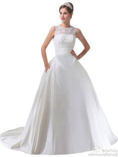 FairOnly White Sleeves Custom Wedding Dresses Bridal Gown Size 6 8 10 12 14 16