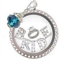 Bride Origami Owl..Order NOW at diannasnow.origamiowl.com and like my facbook page at www.facebook.com/OrigamiDianna