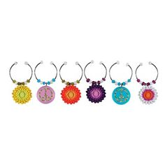 Peace, love and wine charms :)