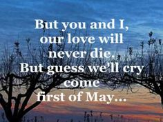 My Favourite 1st of May Song..... FIRST OF MAY (Lyrics) - THE BEE GEES - YouTube