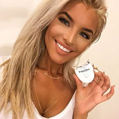You know I love my @brighterwhite ! Easiest way to keep my teeth white! ✨✨✨✨ #brighterwhite