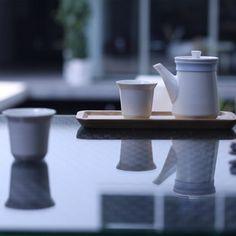 jade porcelain tea gift set by ZENS #tea