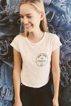 Brandy ♥ Melville | Mason 44 Prince St Top - Graphics