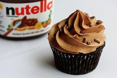 Nutella Buttercream.  Yes please.