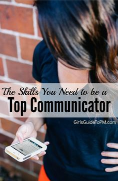 Learn the strategic and technical skills you need to be able to communicate effectively at all levels on your project, and on other initiatives at work.