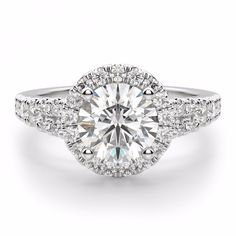 14k White Gold Ring 1.62 Ct Oval Diamond Engagement Ring Size J K L M N O Fine Rings Jewelry & Watches