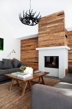 wood wall // Amanda Ayres Interior