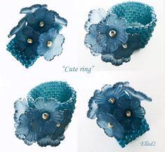 Peyote Stitch Ring ~ Free Tutorial