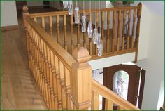 Berriew Provincial Softwood Staircase Banisters, Staircases, Glass Panels, Case Study, Pine, Hardwood, Stairs, Home Decor, Pine Tree
