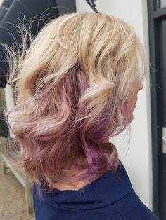 Maria Nila Colour Refresh Vivid Violet Curly hair