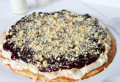 Blueberry Dessert Pizza ~ http://iambaker.net