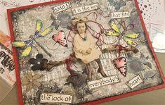 Card realizzata da Rosanna Zuppardo, con timbri Tracy Evans e stencil Bipasha per AALL& Create Stencil, Evans, Cardmaking, Create, Cover, Art, Art Background, Making Cards, Stenciled Table