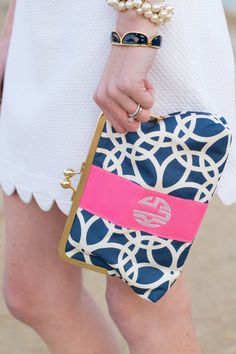 This is my monogram AND my fave color combo... I think I have to have it.