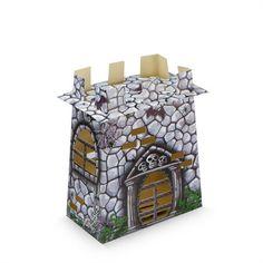 Caixa Surpresa Castelo Assombrado Halloween 08 Unidades Kaixote