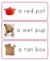 The Helpful Garden: Montessori downloads, including pink, blue, green language series