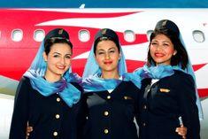 Gulf Air, Bahrain On – Flight Attendant attendants Flight Attendant Hot, Stewardess Costume, Airline Cabin Crew, Airline Uniforms, Commercial Aircraft, Girls Uniforms, Flight Deck, Air France, Attendance