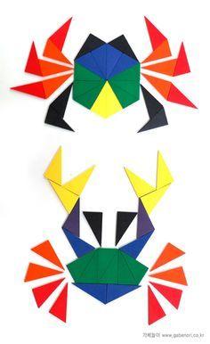 Tangram on Pinterest | Pattern Blocks, Puzzles and Mosaic Patterns