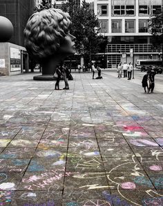 Contemporary Art , just outside the Museum of Contemporary Art, Chicago ,Illinois...Flickr - Photo Sharing!
