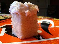Coconut Oil Vanilla Frosting -- DELICIOUS!!  Gluten Free, Vegan, Dairy Free, Maker's Diet  glutenfreehappytummy