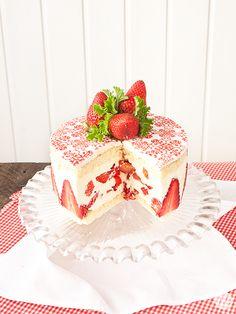 La tarta reina... ¡Tarta Fraisier!