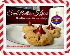 SunButter Kisses Recipe www.thesouthernspark.com