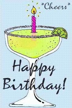Cheers to you on your birthday -                              …