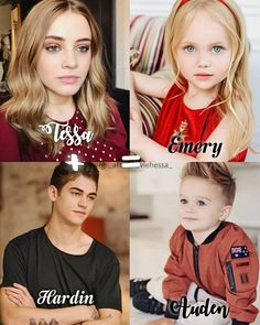 Family 💕 I think I found our perfect Emery and Auden Ahhhh i can't waittt😭😭😭😭 Cute Couples Goals, Couple Goals, After Fanfiction, Hardin Scott, Hero Movie, After Movie, Hessa, Austin And Ally, Girl Meets World