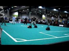 Humans against Robots - RoboCup 2009 - YouTube