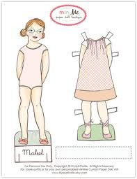 paper doll printable - Google Search