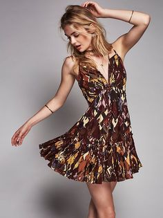 FP One FP One Sumia Mini Dress at Free People Clothing Boutique