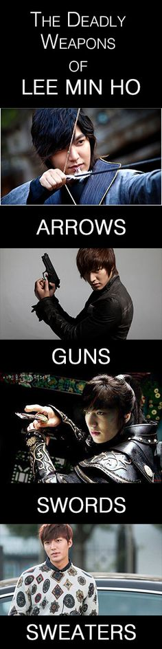 The Deadly Weapons of Lee Min Ho - you forgot beards! Park Hae Jin, Park Seo Joon, Boys Before Flowers, Boys Over Flowers, Korean Drama Movies, Korean Actors, Korean Dramas, Hyun Bin, So Ji Sub