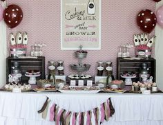 "Cookies & Milk / Baby Shower ""A Sweet Cookies & Milk Baby Shower"" 