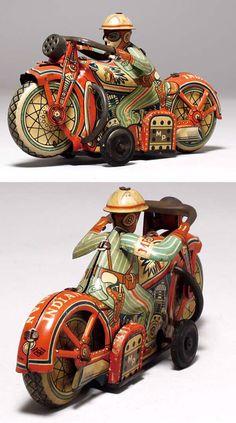 Indian tin motorcycle