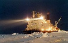 Odyssée dans l'Arctique avec une flotte russe de Brise-glace