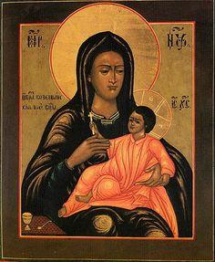 Икона Пресвятой Богородицы «Козельщанская» (Feb 21 / Mar 6)