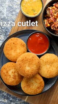 Spicy Recipes, Cooking Recipes, Pizza Recipes, Cutlets Recipes, Chaat Recipe, Indian Dessert Recipes, Vegetarian Snacks, Yummy Food, Kitty Party