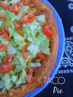 Taco Pie  Ally's Sweet & Savory Eats