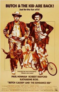 Films with fashion influence - 1969 Butch Cassidy and the Sundance Kid poster
