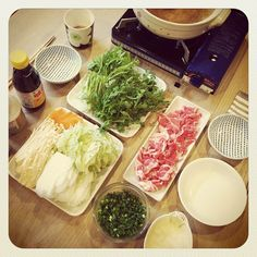 Shabu Shabu - One of our faves around here :)