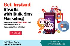 Bulk sms Marketing software for Best Bulk Sms Advertising for your business in india any where all location. Increase Sales, Marketing Software, Advertising, How To Get, India, Messages, App, Goa India, Apps