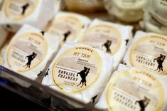 Cowgirl Creamery's Mt. Tam cheese for sale at the barn, their original location in Point Reyes Station, Calif., Monday, October 29, 2012. Photo: Sarah Rice, Special To The Chronicle / SF