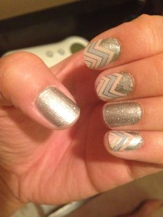 Jamberry nail wraps Sugar & Spice and diamond dust sparkle combo ideas #jamicure #jamberry  Jamssession.jamberrynails.net