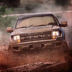 Anyone else feel this way this morning after the storms yesterday? #muddymonday #ford#fordtough#raptor