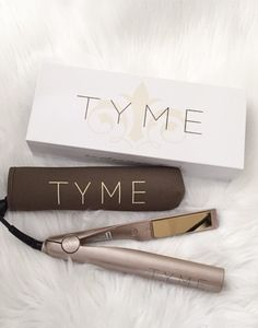 Tyme 2-in-1 Hair Straightener and Curling Iron... get in my life.