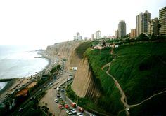 Miraflores Beach, Lima Peru