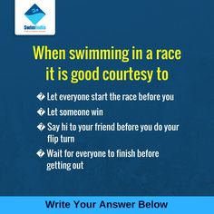 Quiz Time! #SwimIndia