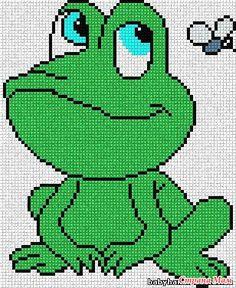 Идеи для оформления детских вещей, вязанных спицами... Часть №1. - Вязание для детей - Страна Мам Beaded Cross Stitch, Cross Stitch Charts, Cross Stitch Embroidery, Modele Pixel Art, Pixel Crochet, Pixel Art Templates, Modern Cross Stitch Patterns, Cross Stitch Animals, Plastic Canvas Patterns